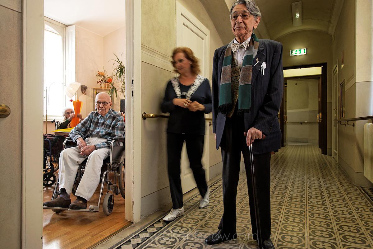 La Scala Musician  in Giuseppe Verdi Mansion and Elderly Home