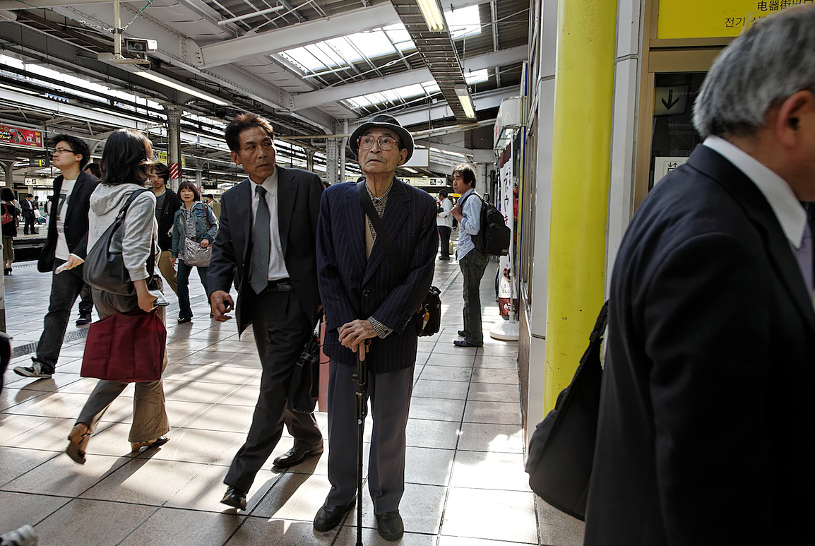 Tokyo Subway | Japan is the Most Rapidly Aging Country in the World