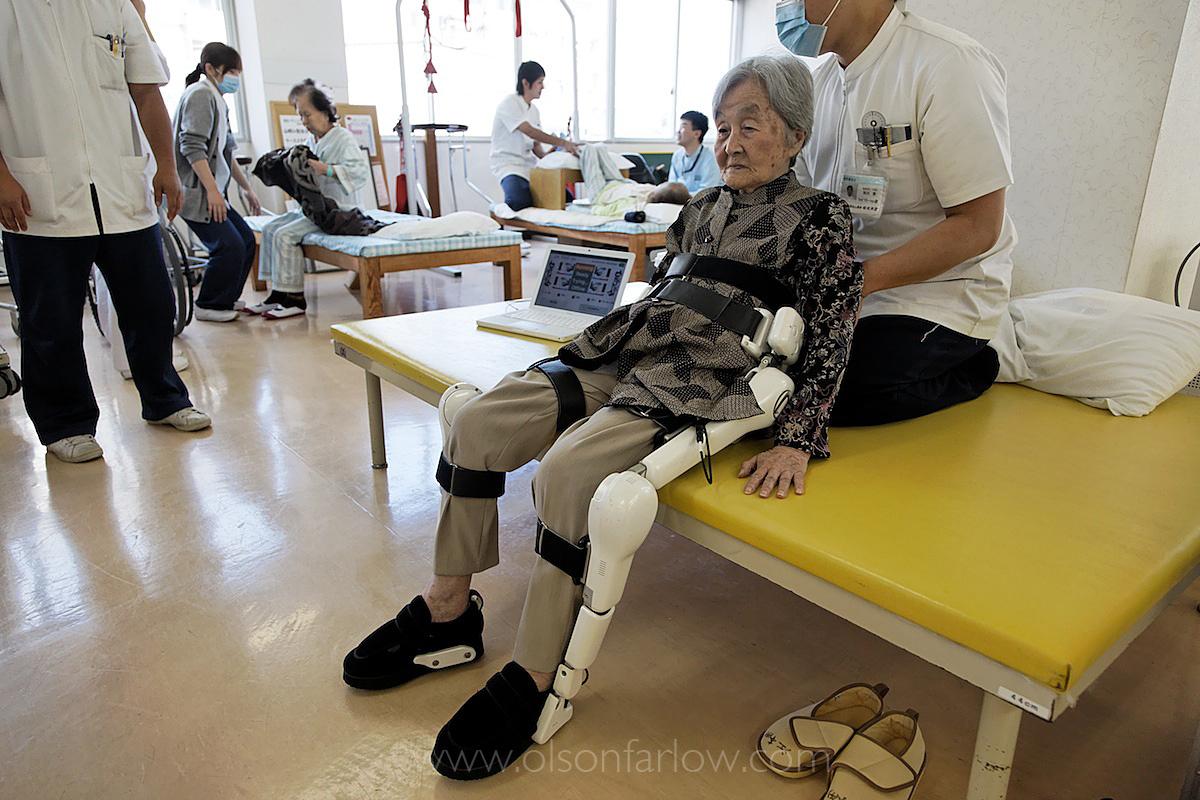 Japan's Aging Population | Robotic Legs for Elderly
