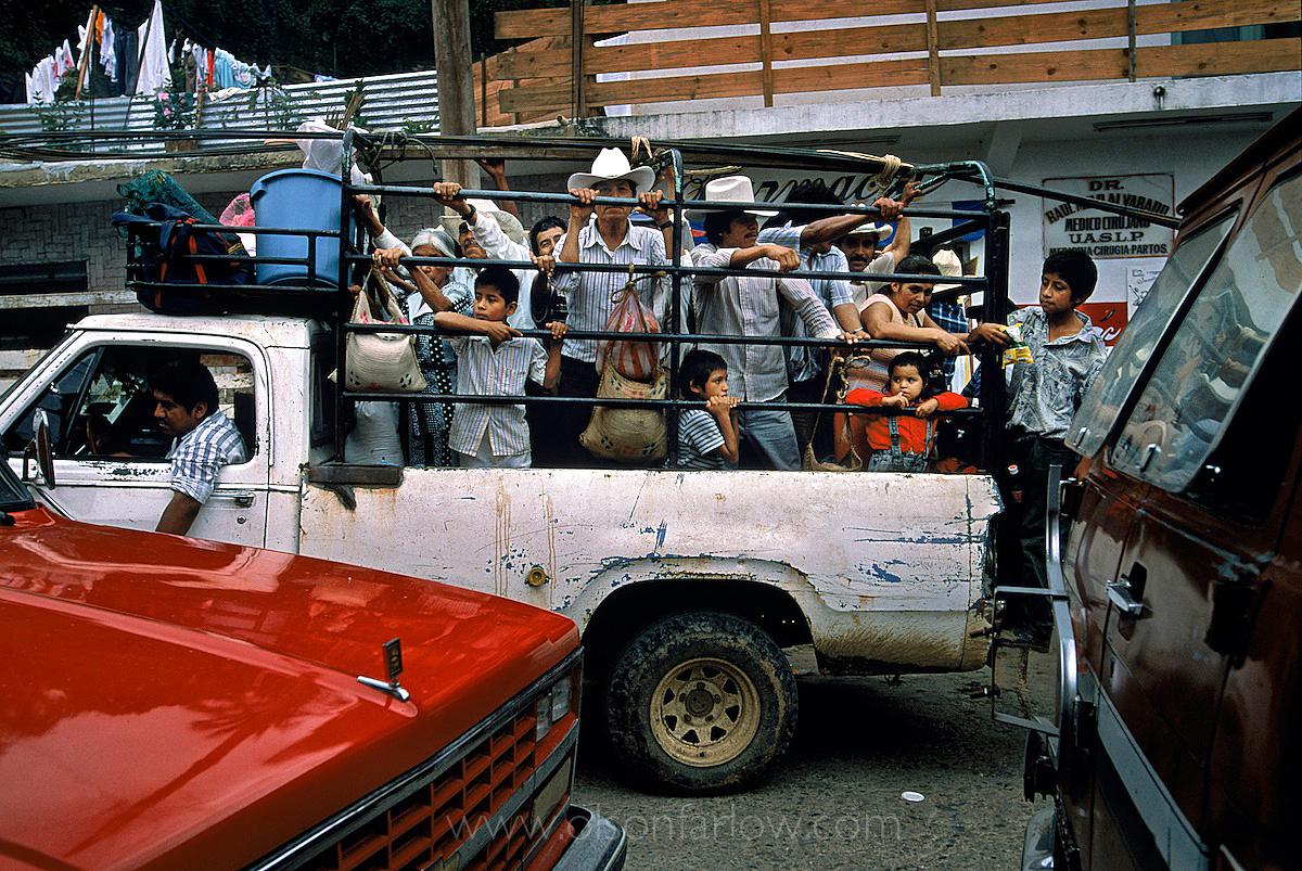 Rapid Indigenous Migration | Huastec Village, Mexico