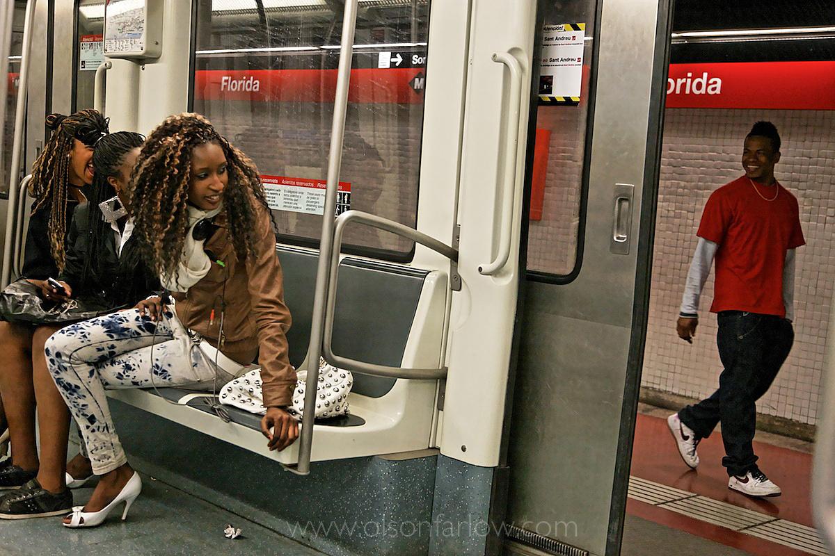 Spanish World Immigrants in Subway | Barcelona