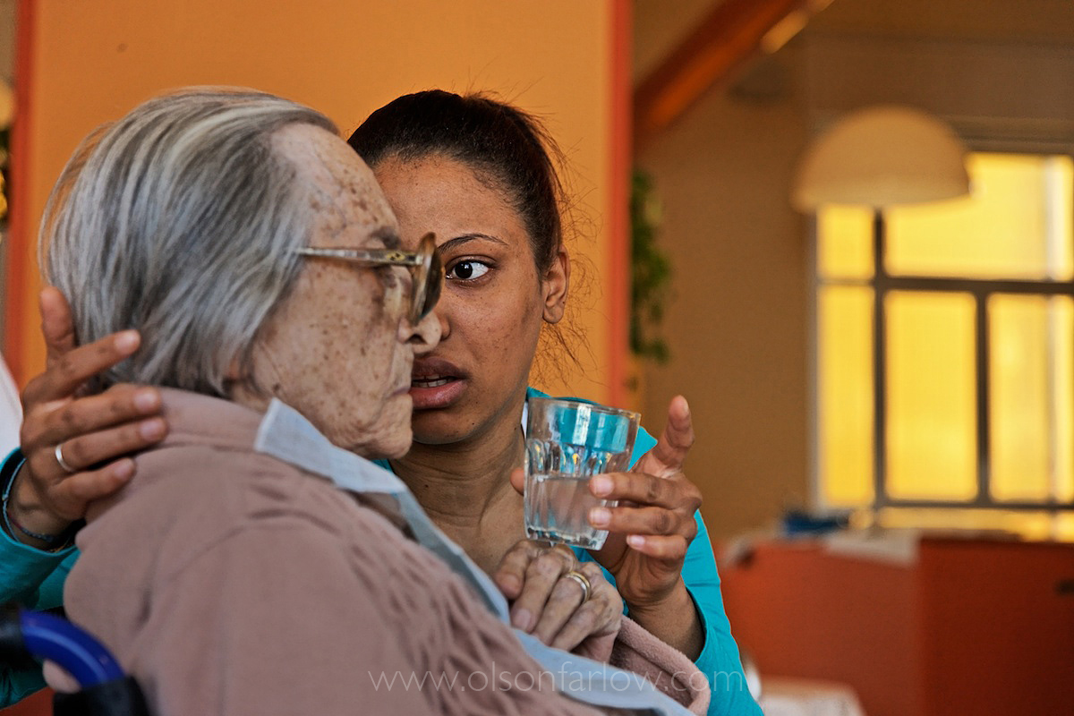 Immigrant Health Care Workers Help Elderly | Milan, Italy