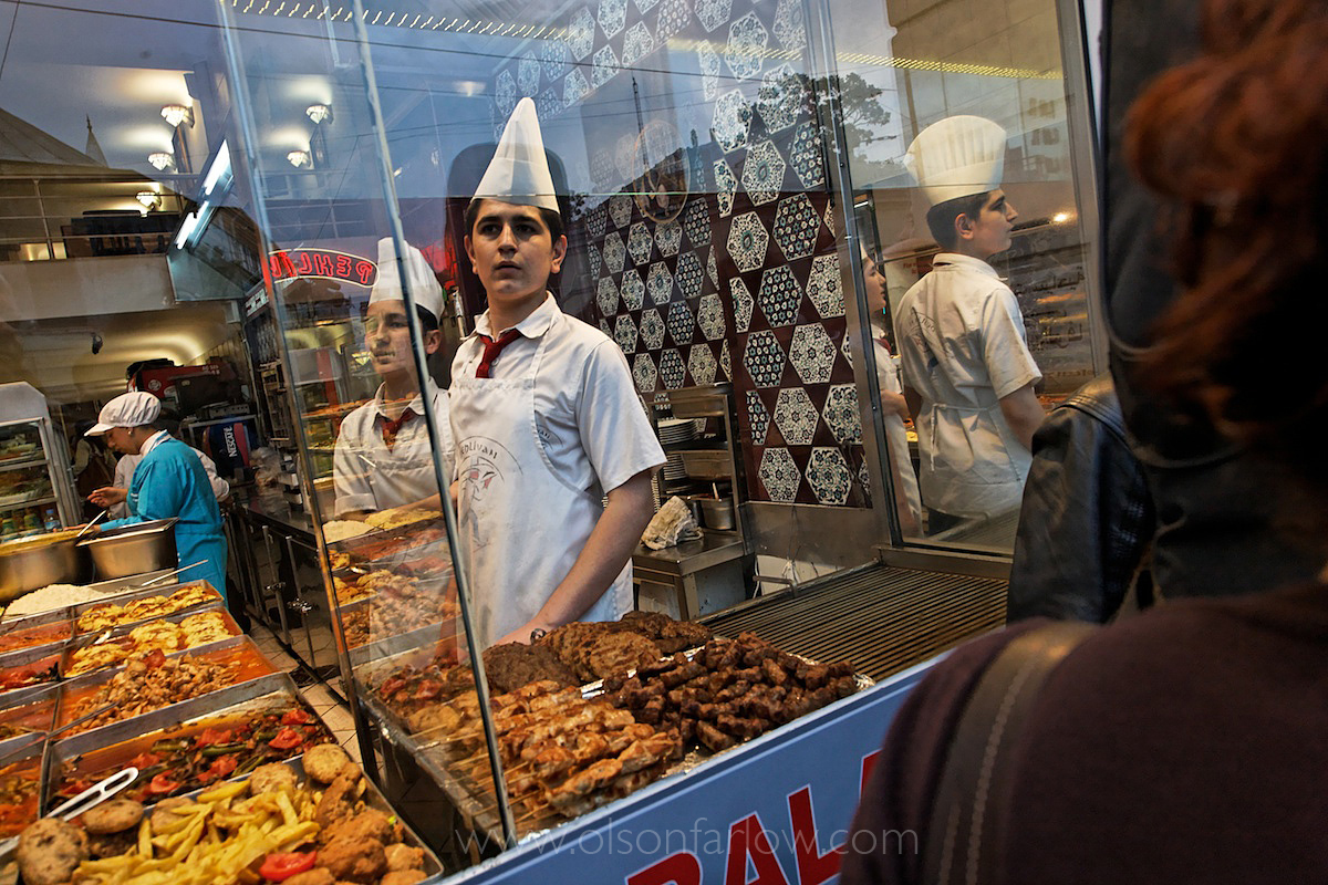 Immigrant Cook Watches Turk | Armenian Demonstration