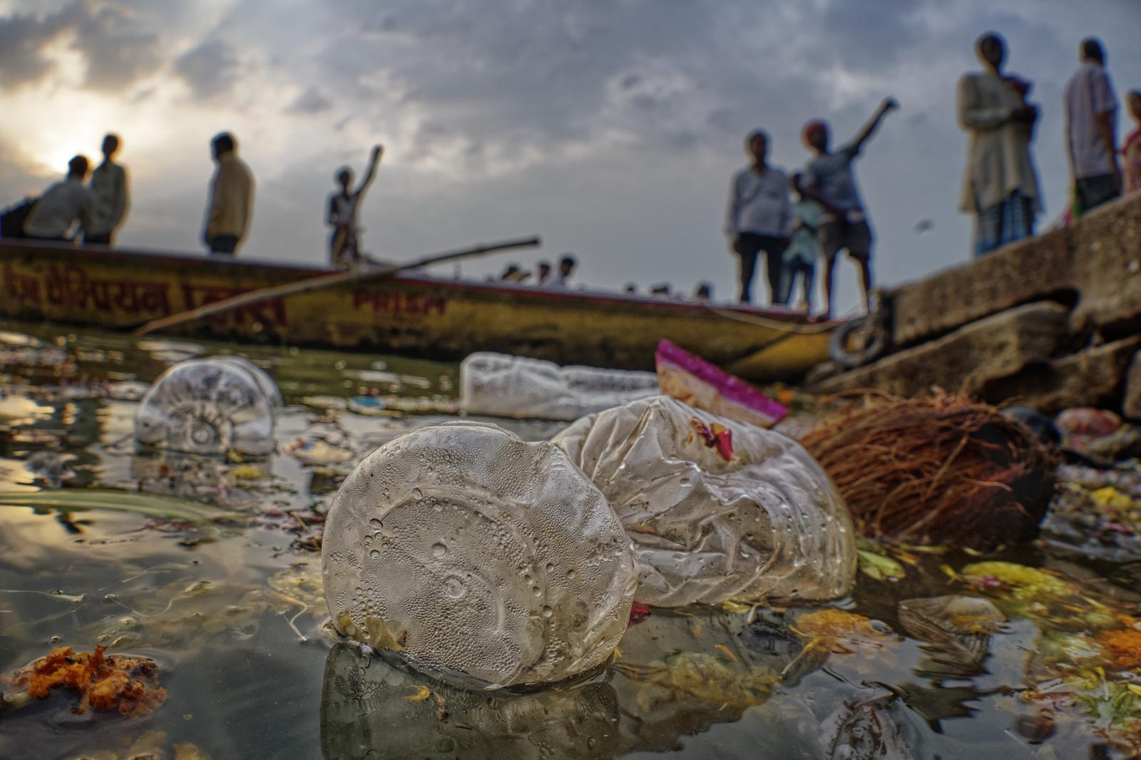 Ganges Plastic Waste