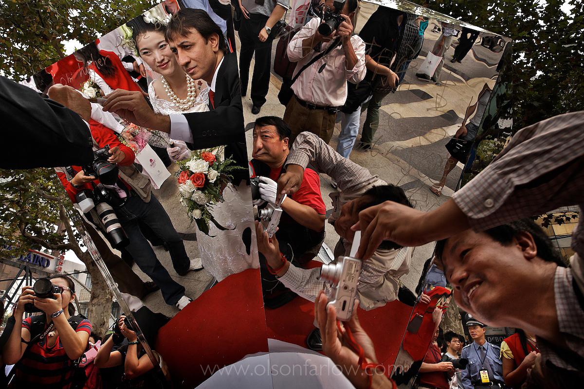 Mass Wedding Giant Diamond Provided by DeBeers | Shanghai, China