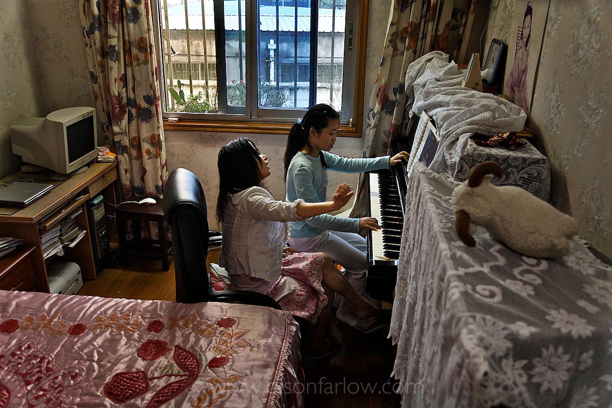 Bella's Piano Lesson | Beijing, China