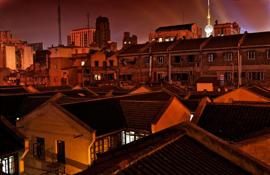 Old Buildings slated for demolition in Pudong | Shanghai, China
