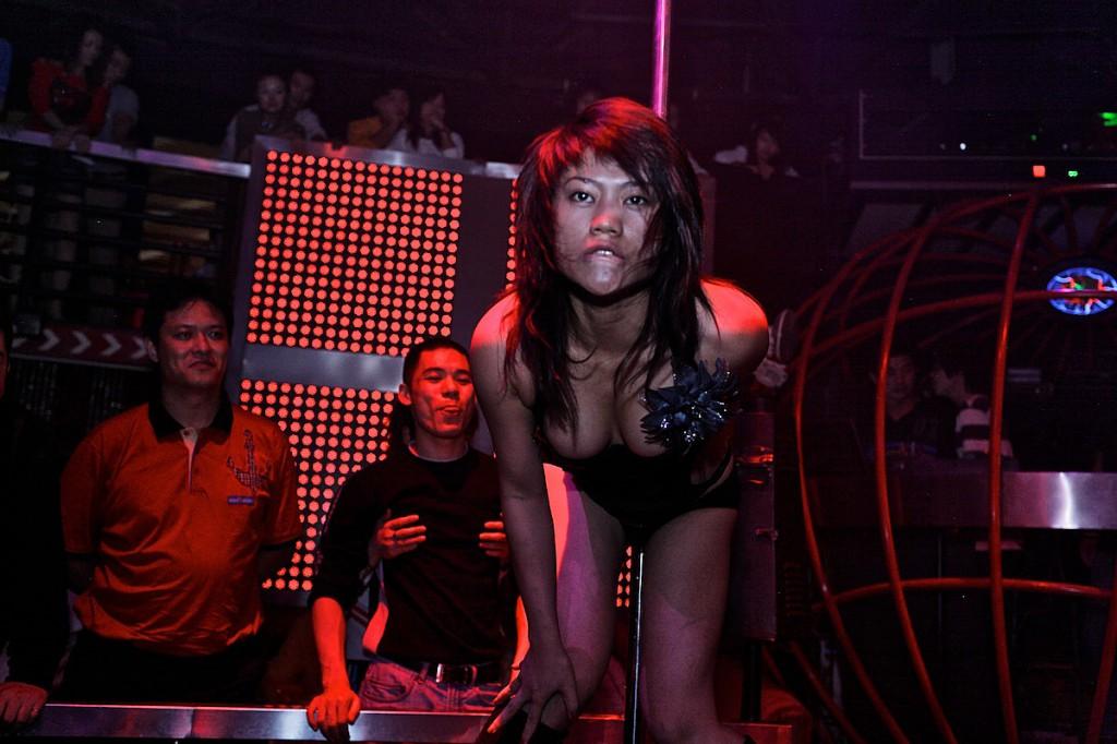 Dancer at Armani Club | Shanghai, China