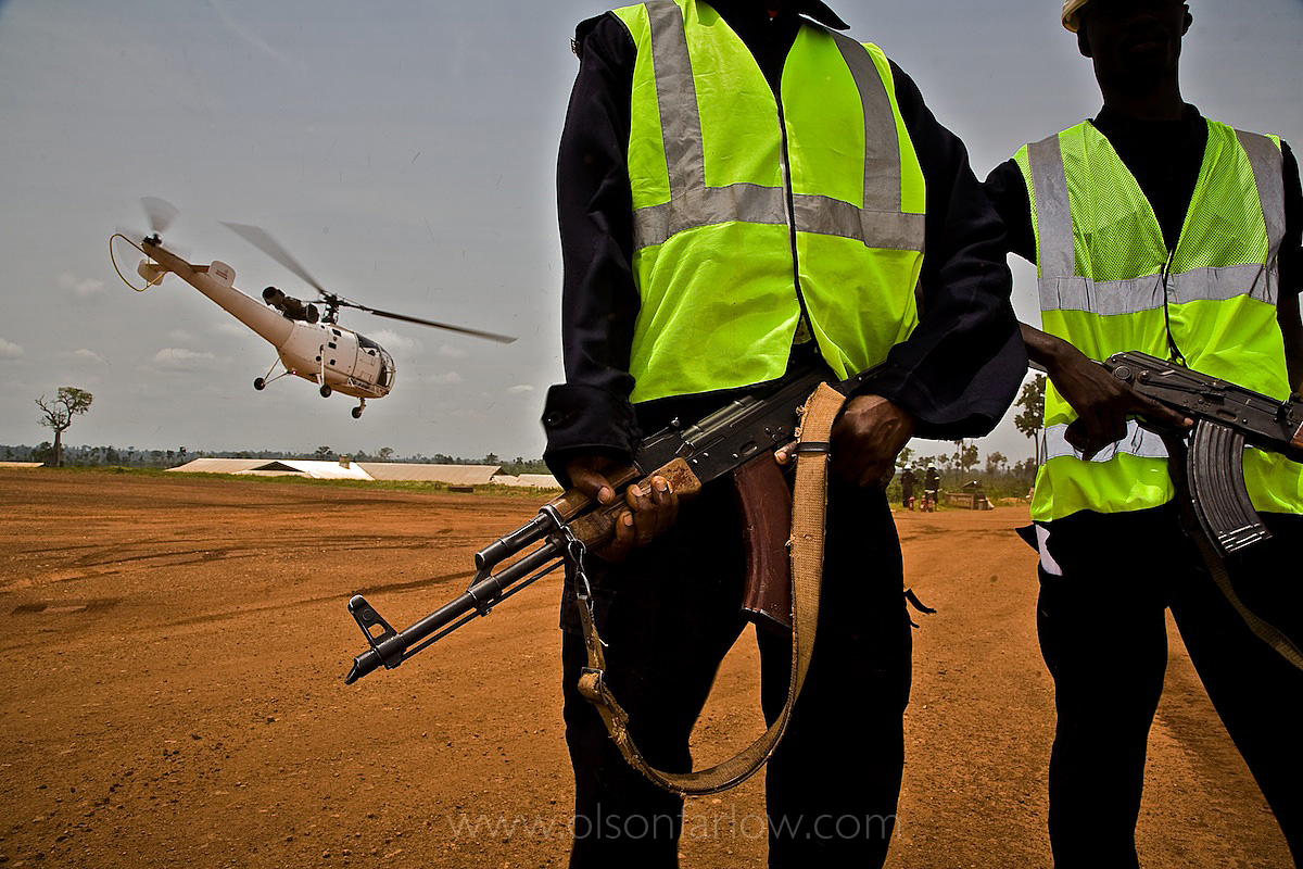 Helicopter Takes $7M Worth of Gold Bars | Ghana, Africa