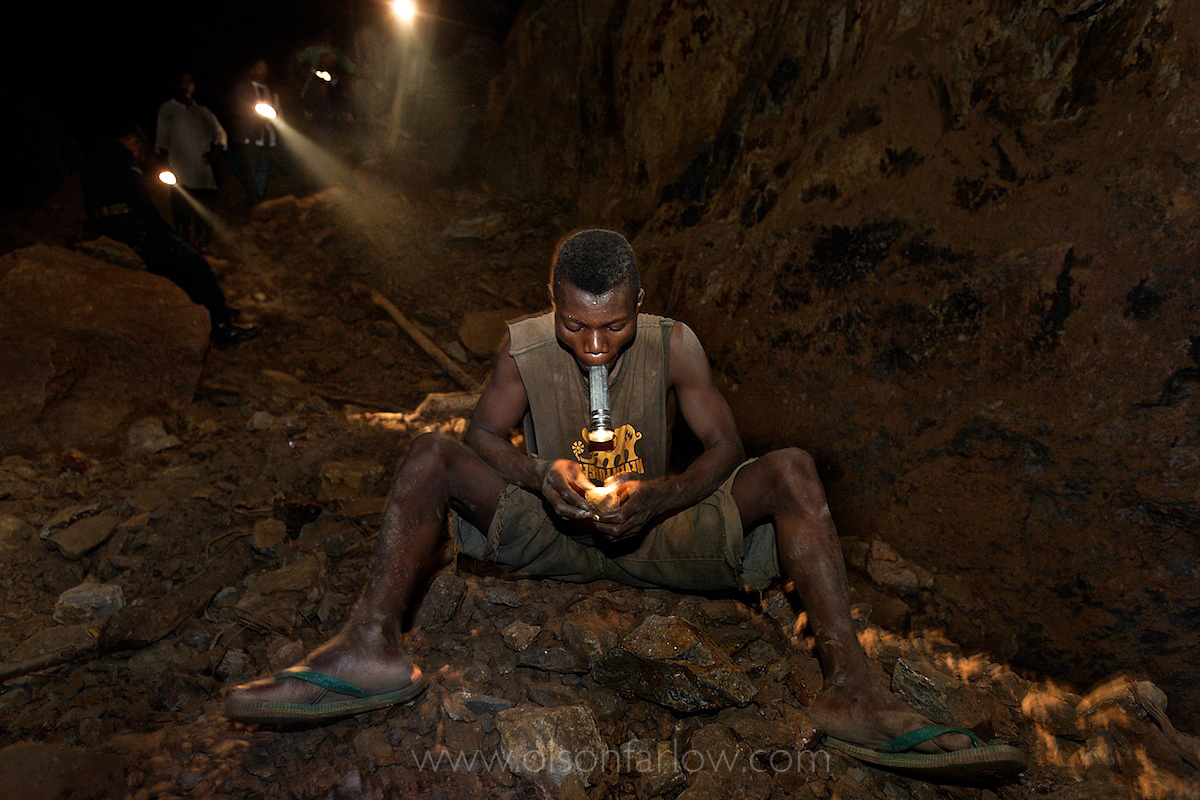 Scrapping Gold From Old Belgian Mines | DR Congo