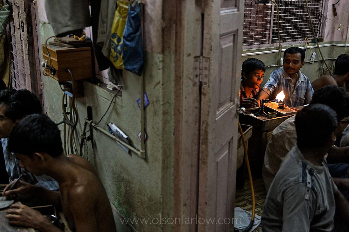 Artisanal Gold Smith Sweat Shop | Kolkata (Calcutta), India