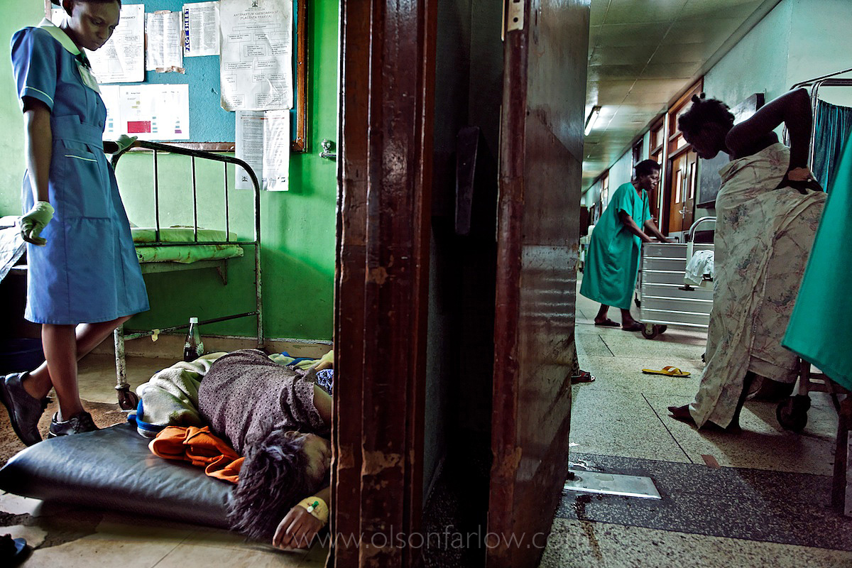 Birth on Floor of Maternity Ward at Mulago Hospital | Kampala, Uganda