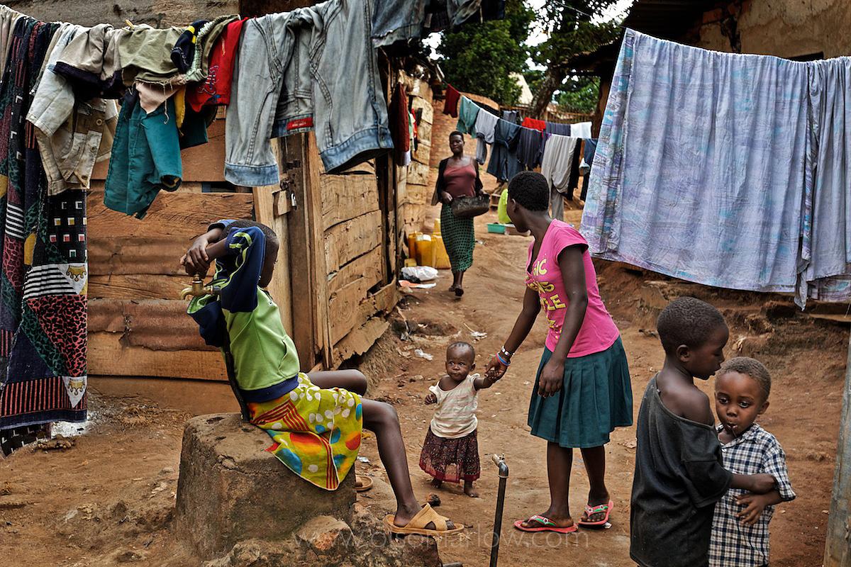 Kireka | War Refugees Slums | Outside Kampala, Uganda
