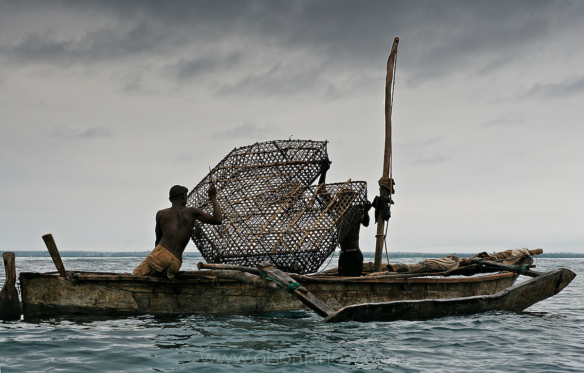 Fish Traps Used by Artisanal Tanzanian Fishermen | Tanga