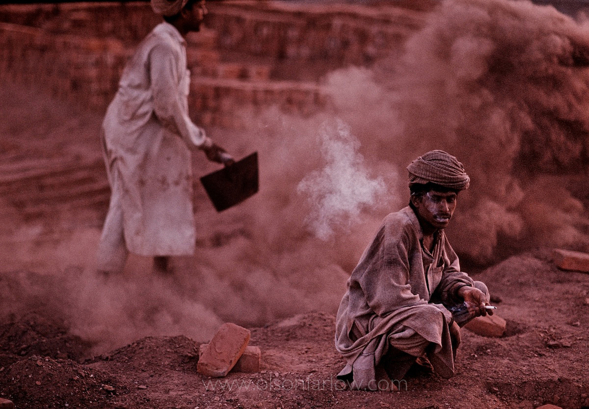 Brick Factory Outside Ancient Harappa, Pakistan