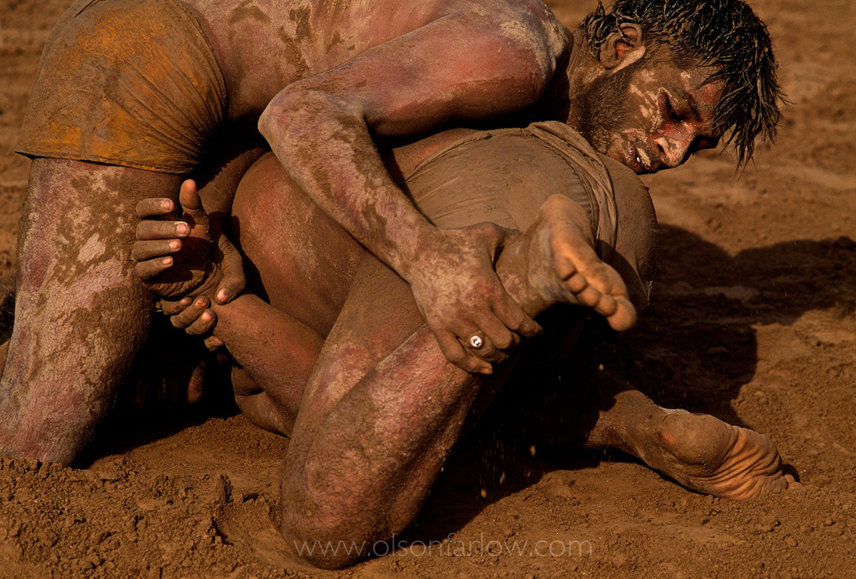 Wrestling Match in Modern Day Harappa Town | Pakistan