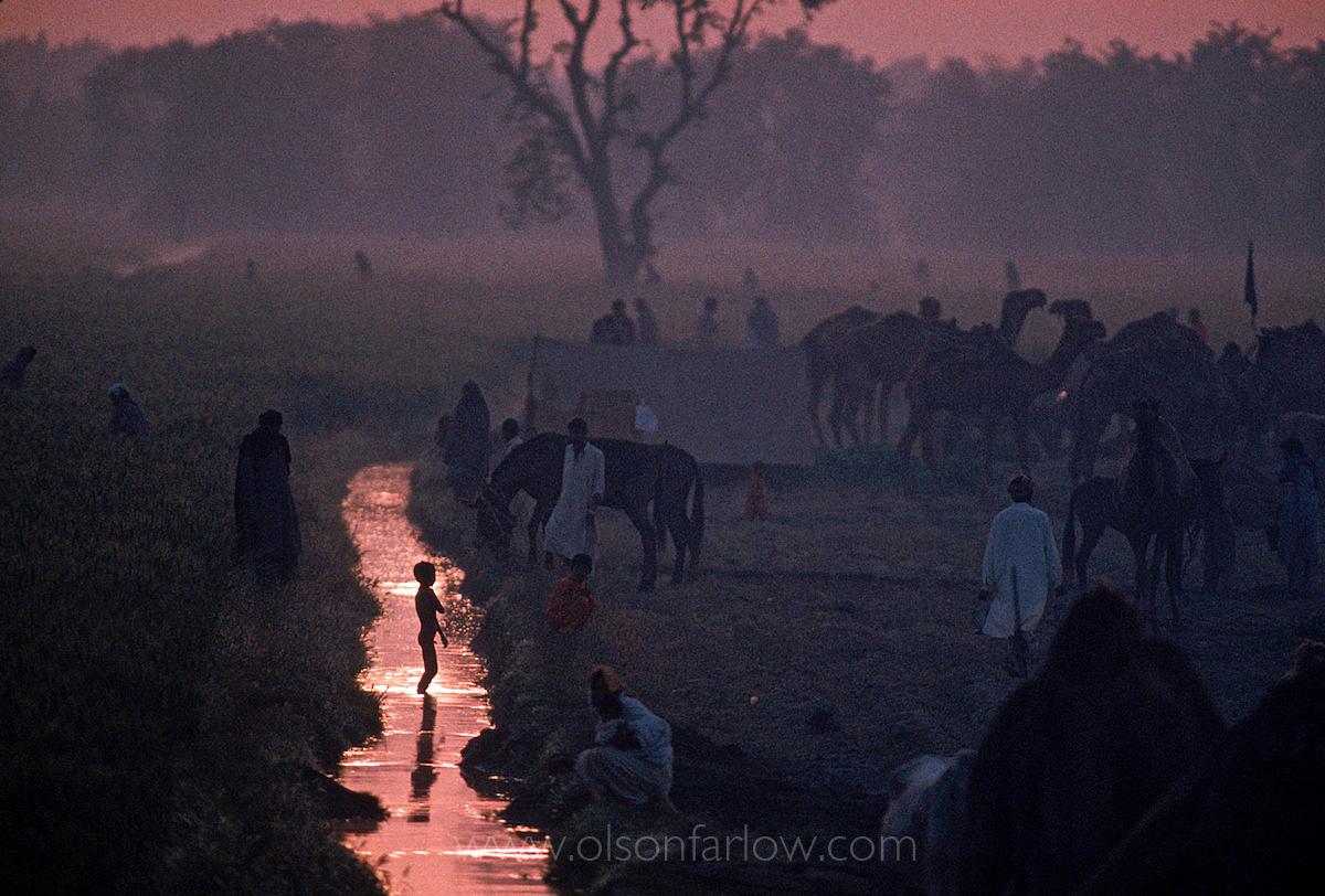 Pilgrims at a camel Gathering | Indus Valley, Pakistan