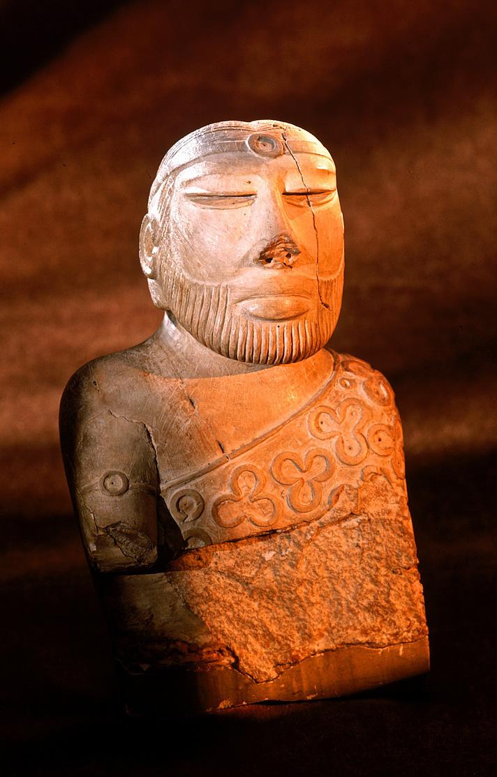 Priest King | Icon of Indus civilization | 2200-1900 BC | Mohenjo Daro