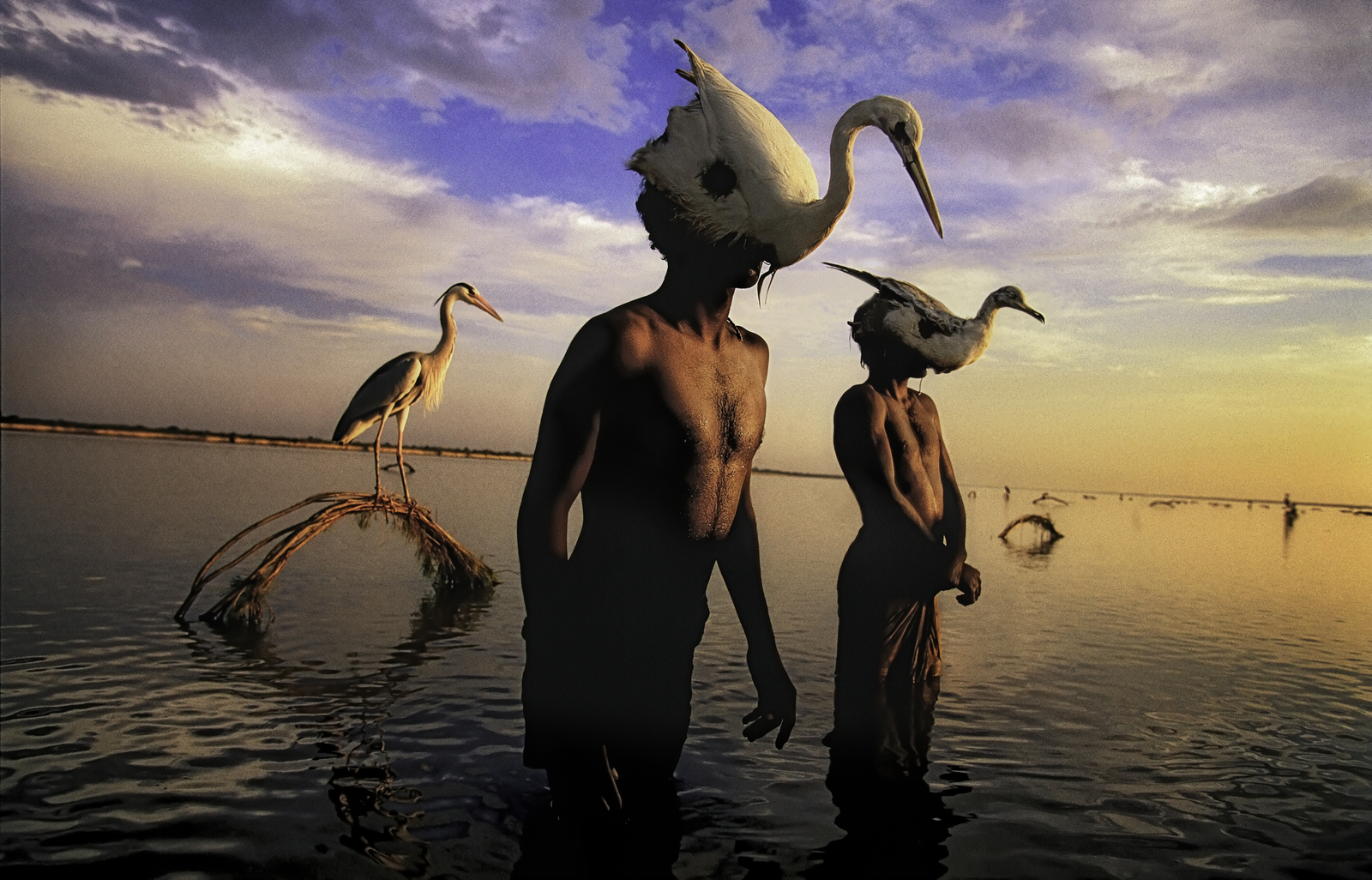 Bird Hunters, Indus River | Mohenjo Daro, Pakistan