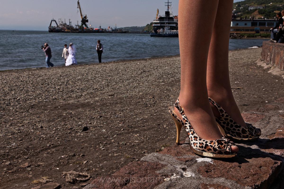 Wedding at Petropavlovsk Port