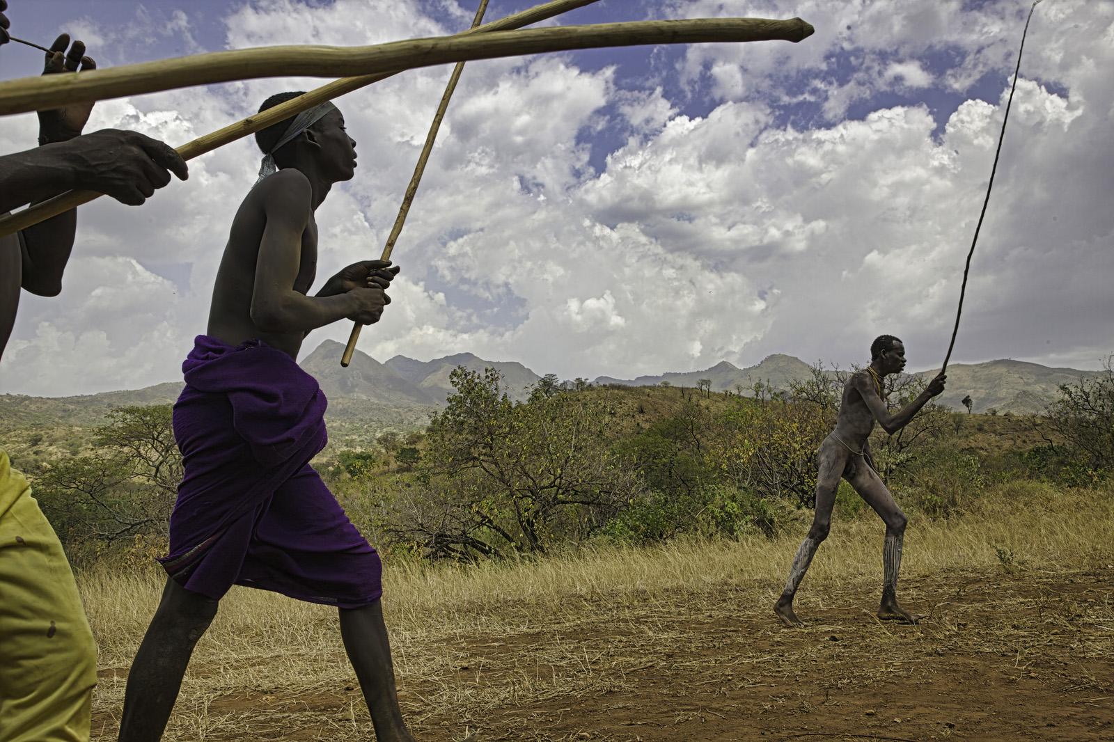 Tribal Donga Stick Fight