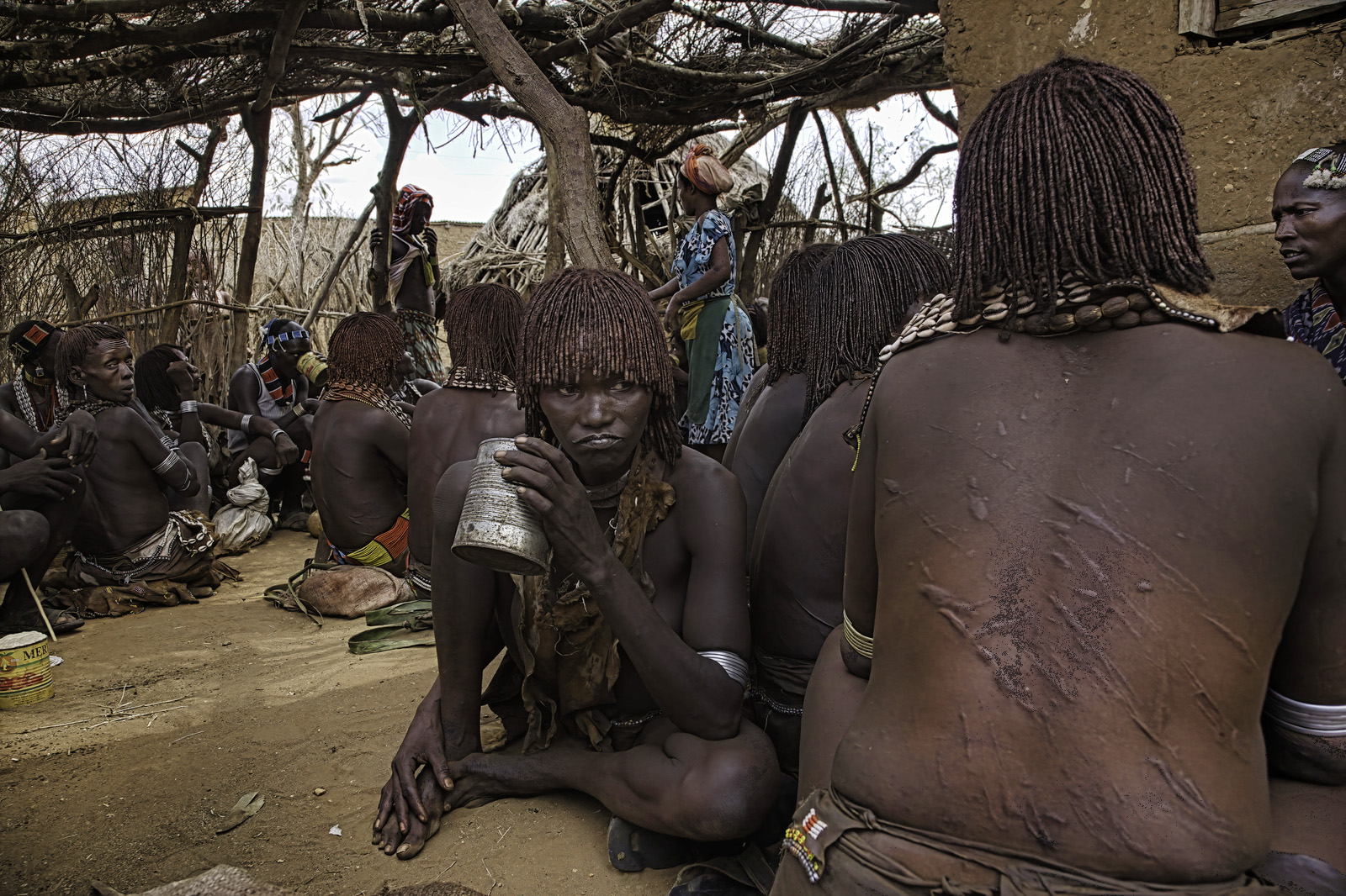 Bar in Tribal Ethiopia