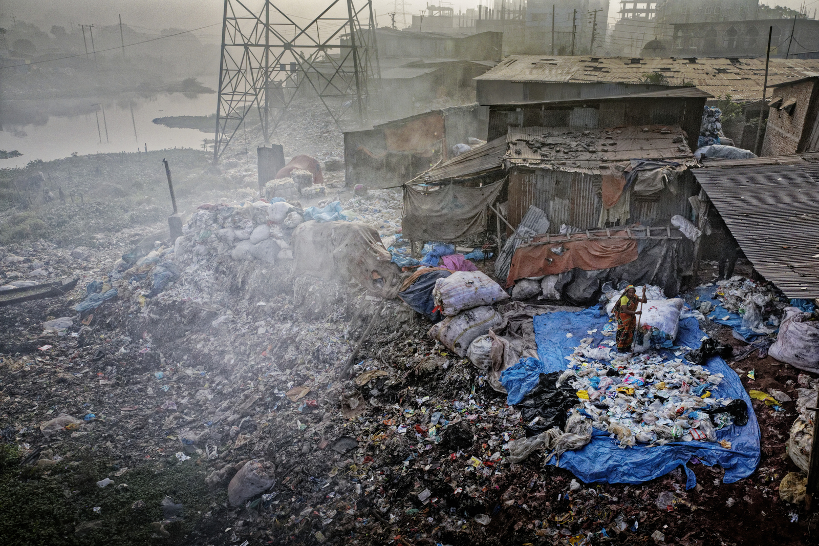 Buriganga River Plastic Workers