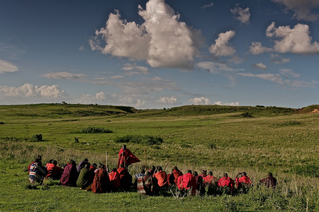 Maasai, Lost in the Stampede, National Geographic 10