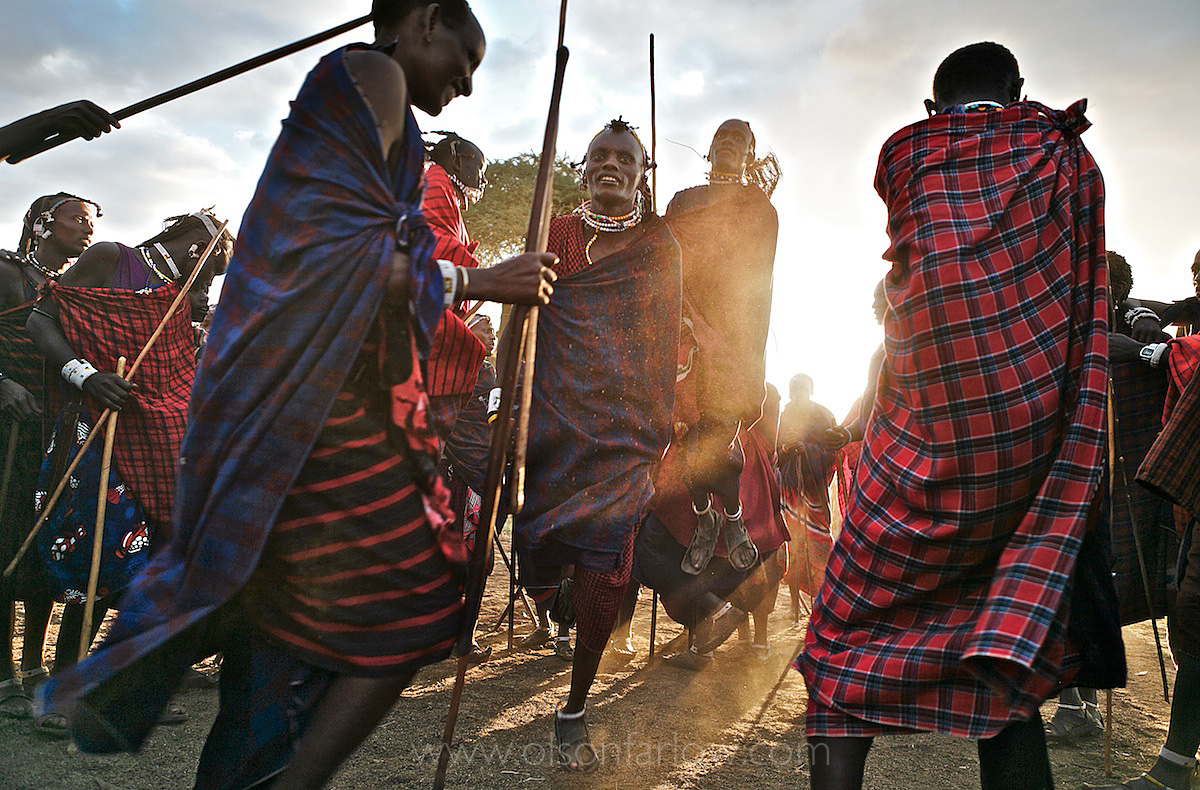 Maasai, Lost in the Stampede, National Geographic 19