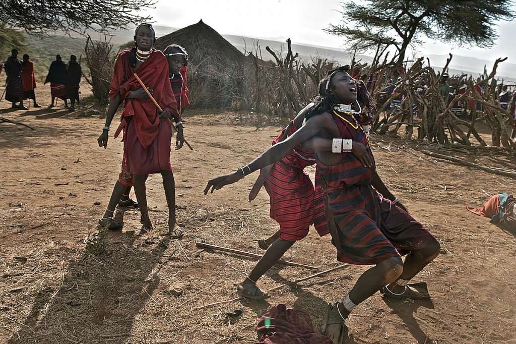 Maasai, Lost in the Stampede, National Geographic 22