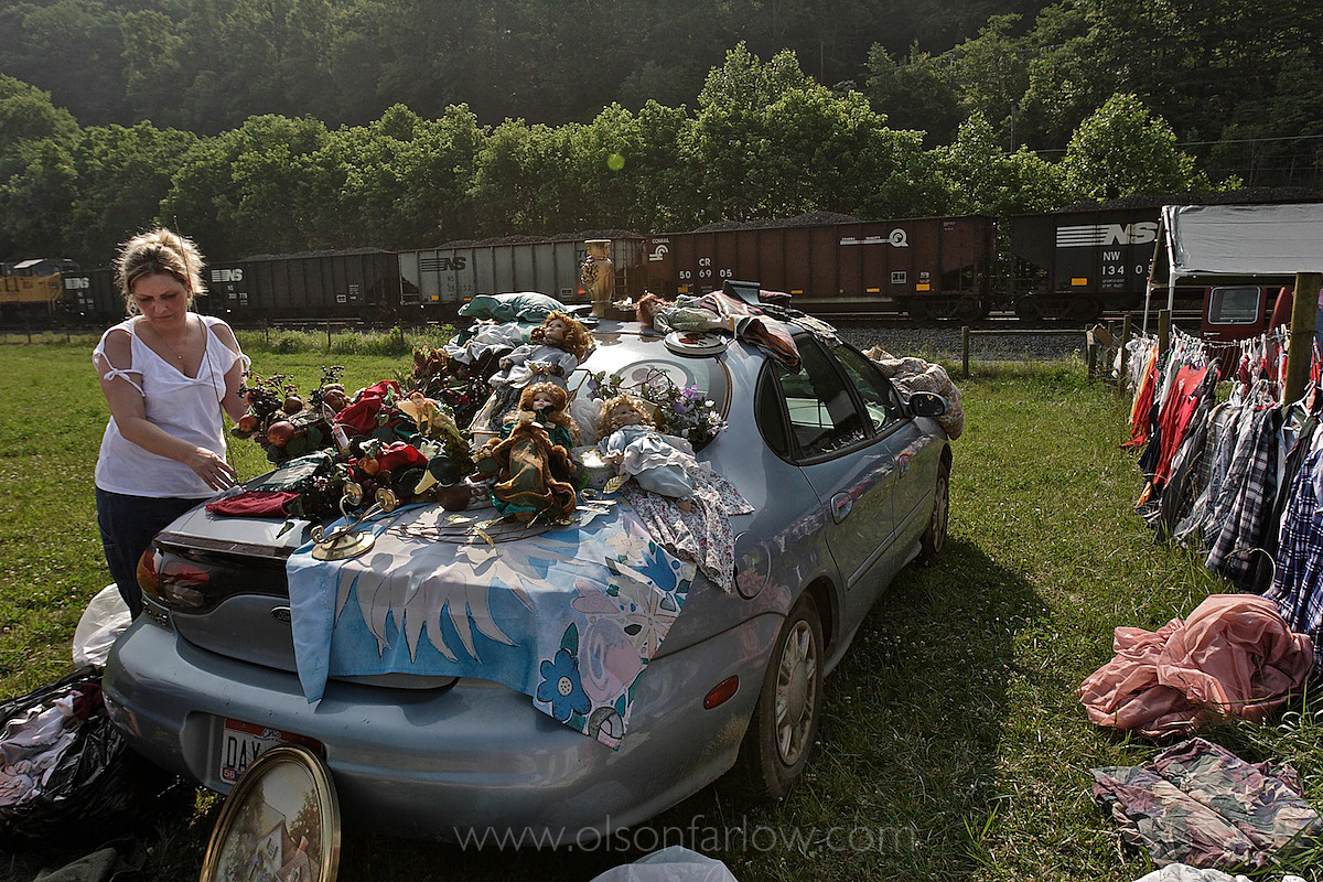 Roadside Flea Market in Appalachia
