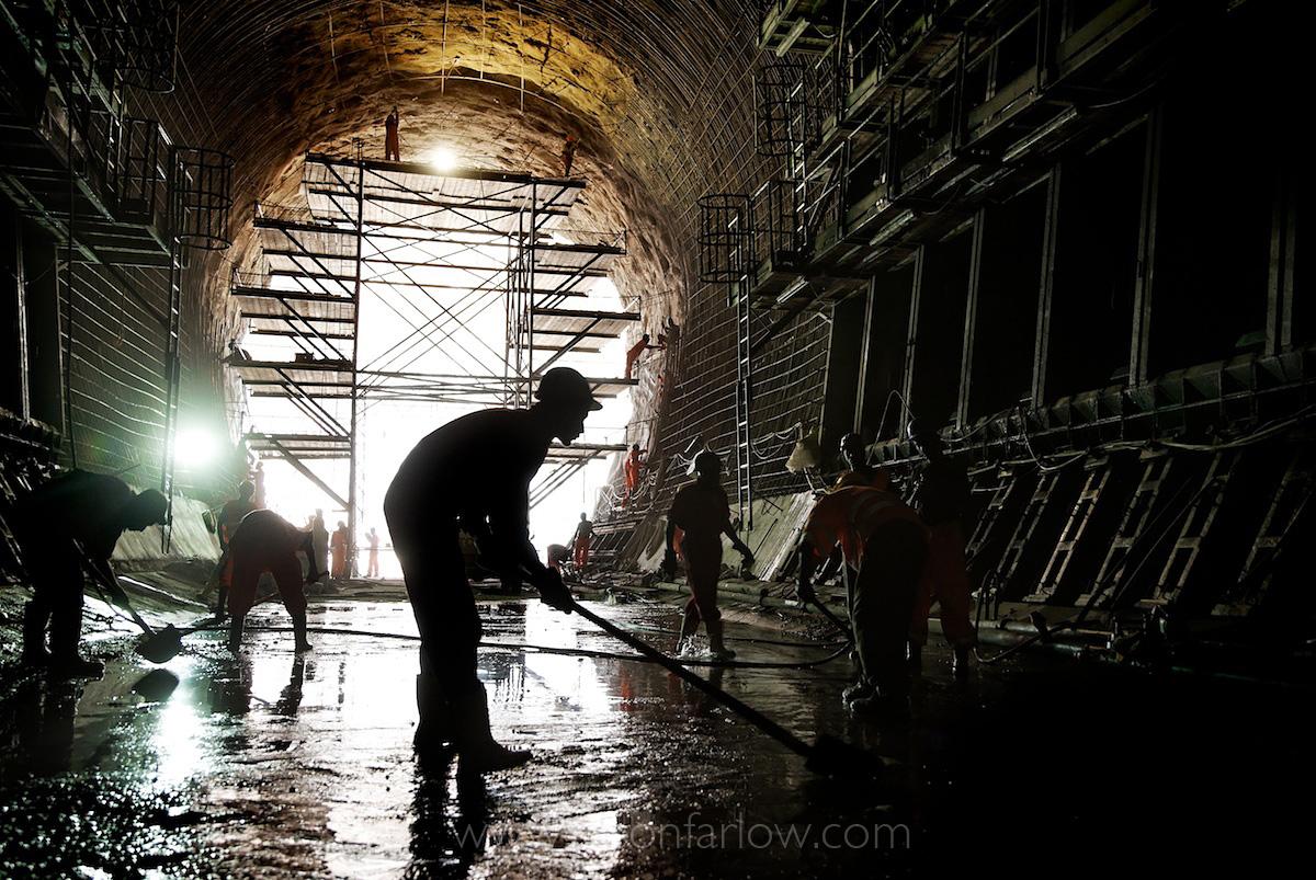 Gibe III Dam Construction