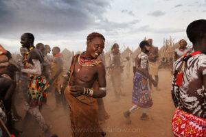 Women Dance in Duss Village | Omo River Valley, Ethiopia
