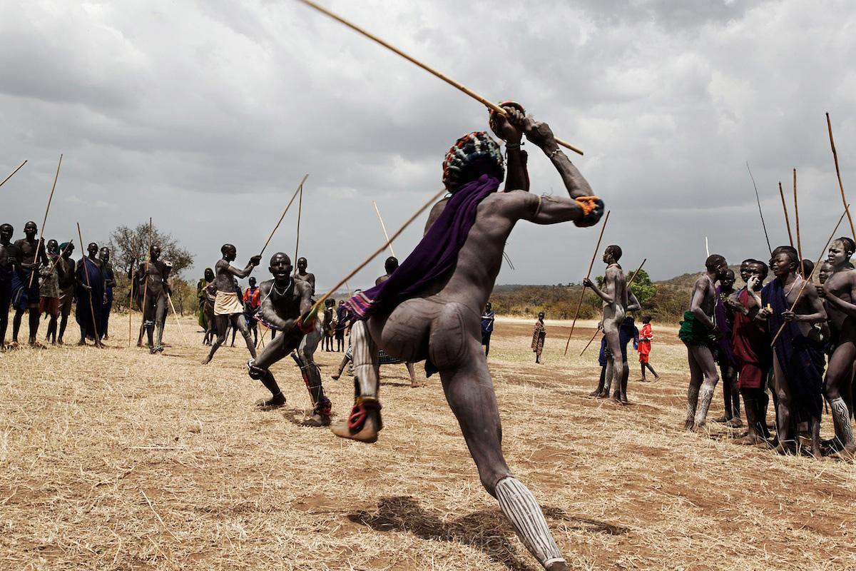 Donga Stick Fighting