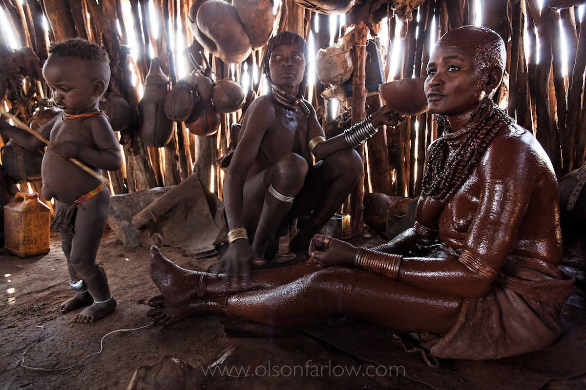 Ethiopian Bride Ritual