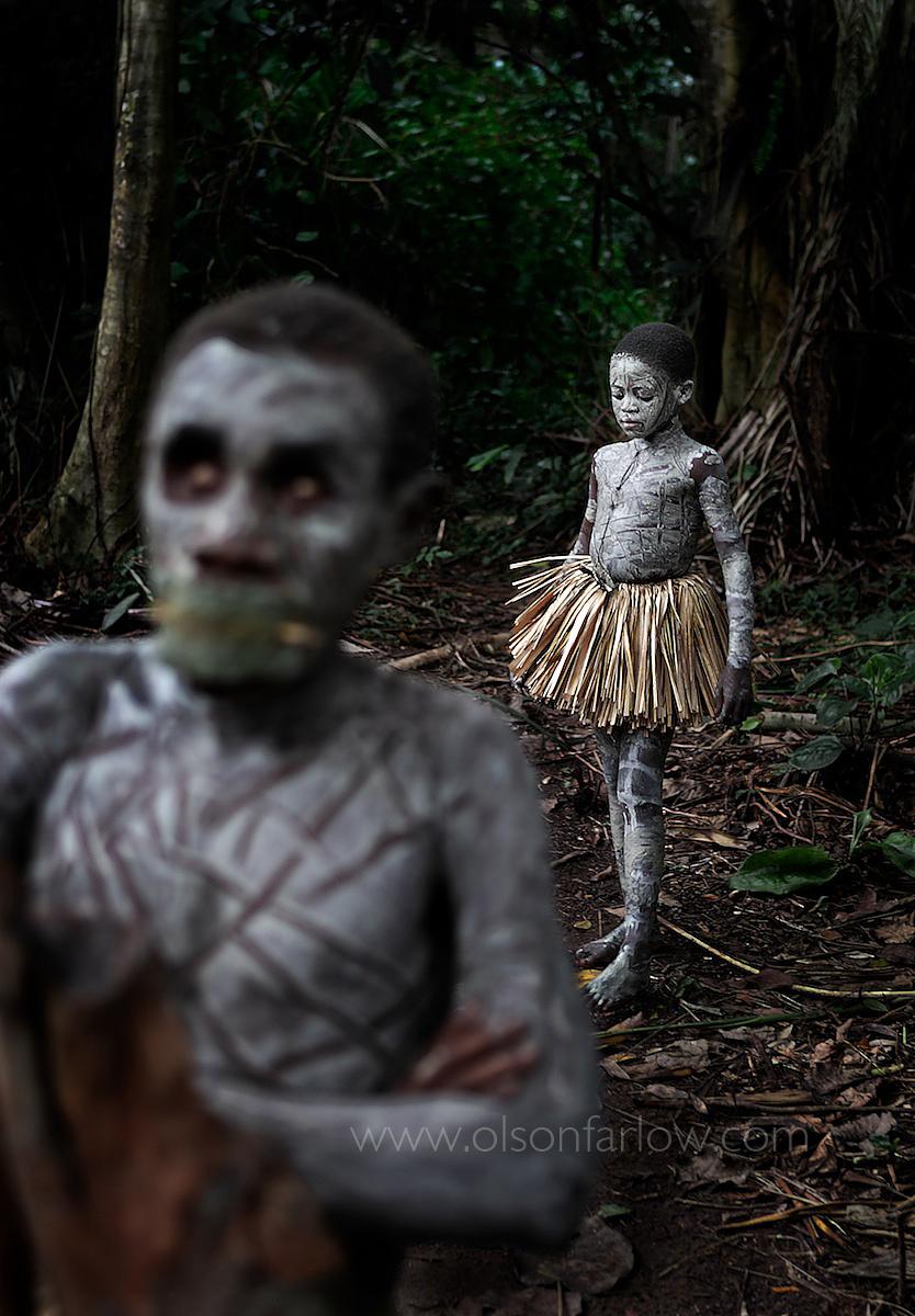 Blind Pygmy in Manhood Ritual | Epulu, DR Congo, Africa