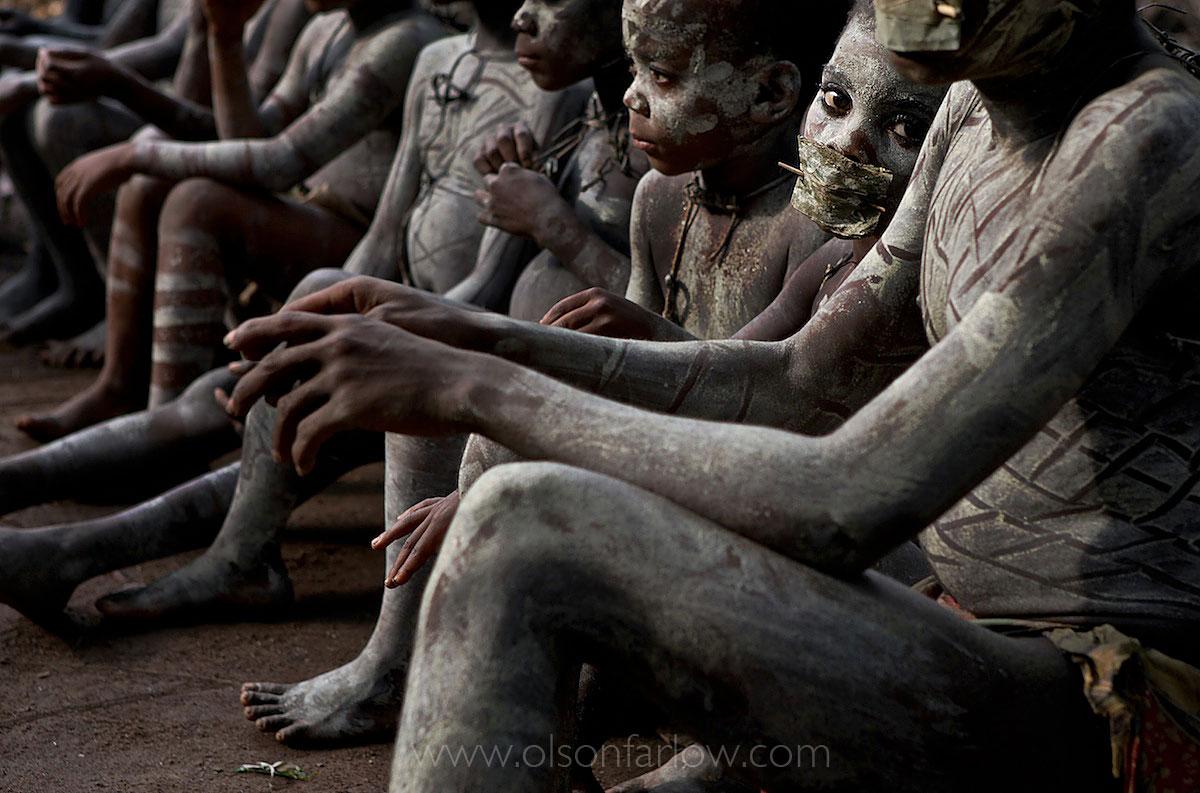 Pygmy Boys in nKumbi Manhood Ritual | Epulu, DR Congo