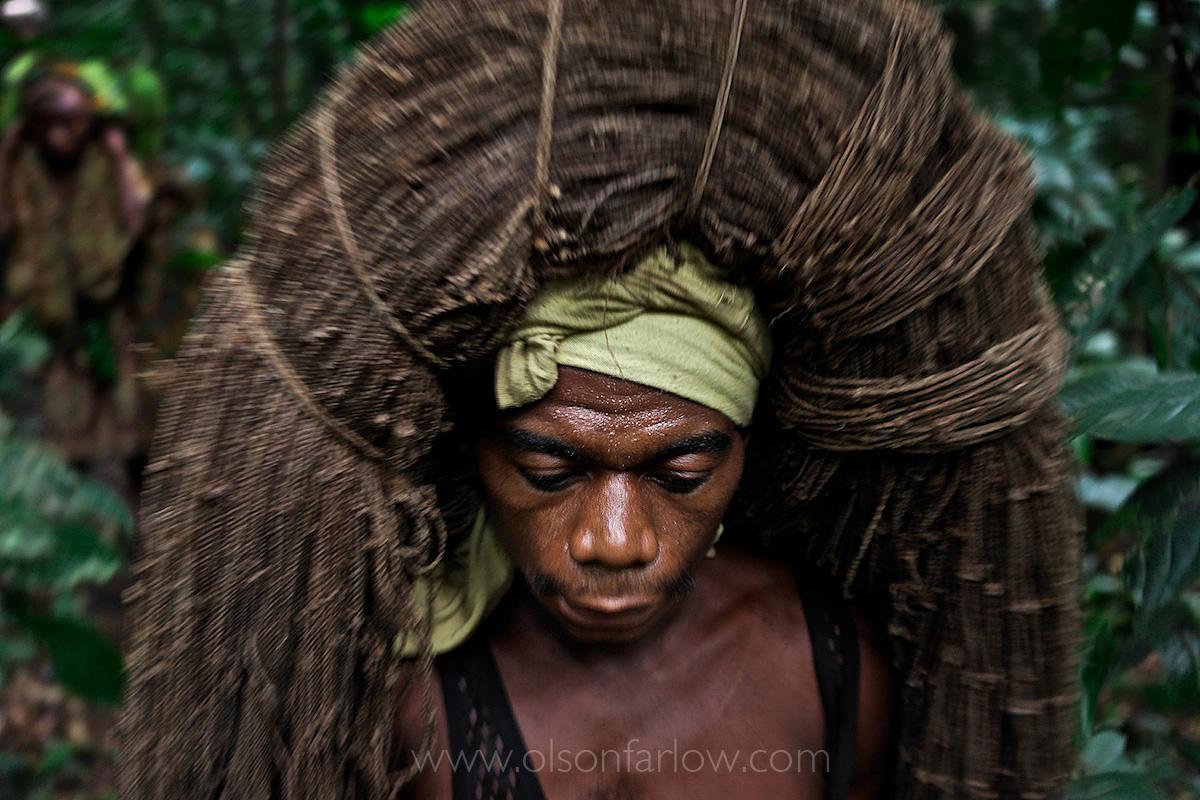 Net Hunting Pygmies | Ituri Forest, Democratic Republic of Congo