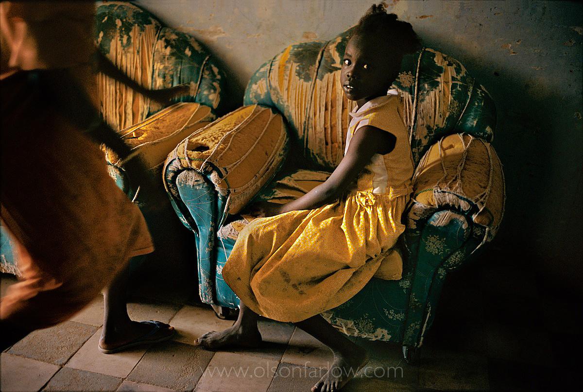 Dinka Slave House | Freed Dinka Slave Girl |Northern Sudan