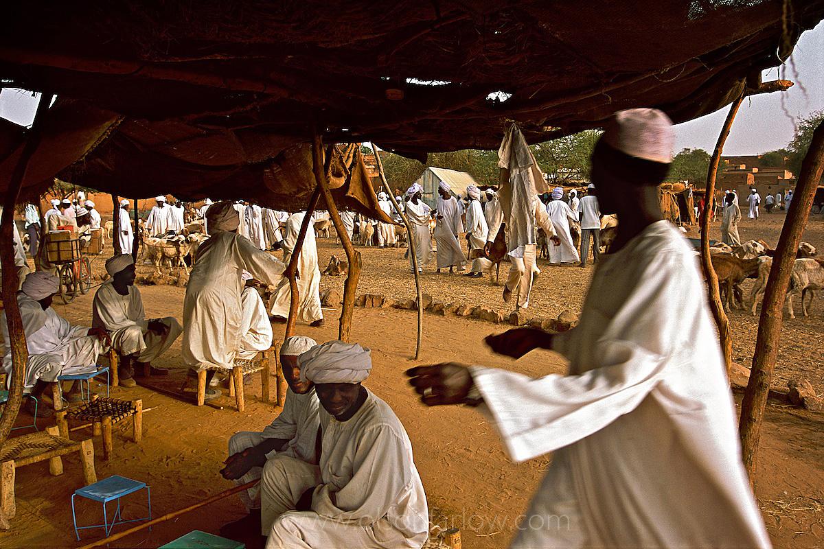 Mulahareen Tribesmen in Market | Darfur Region | Northern Sudan