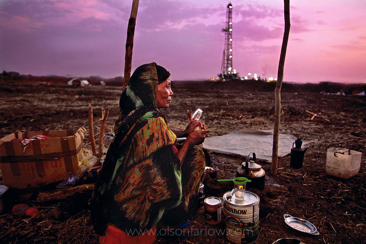 Sudan Oil Fields | War Refugee Serves Tea | Southern Sudan