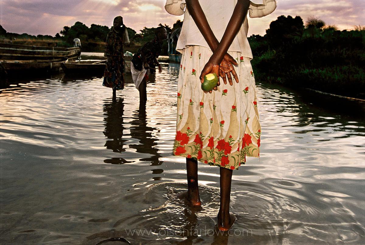 Starving Dinka Girl in Juba Garrison Town | South Sudan