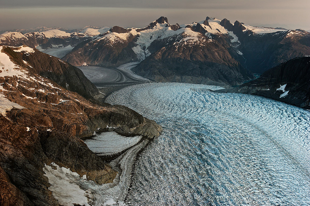 Glacier In Stikine Icefield