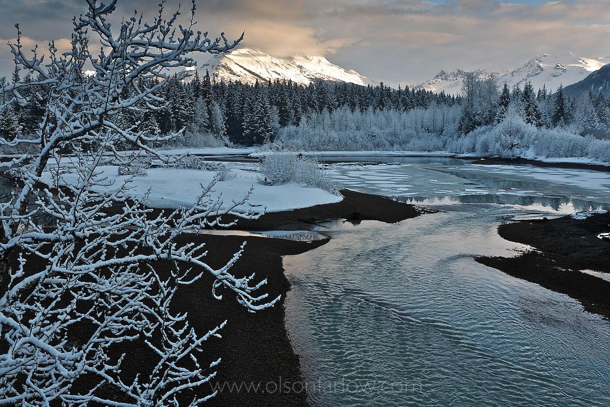 Winter Morning On The Mendenhall River
