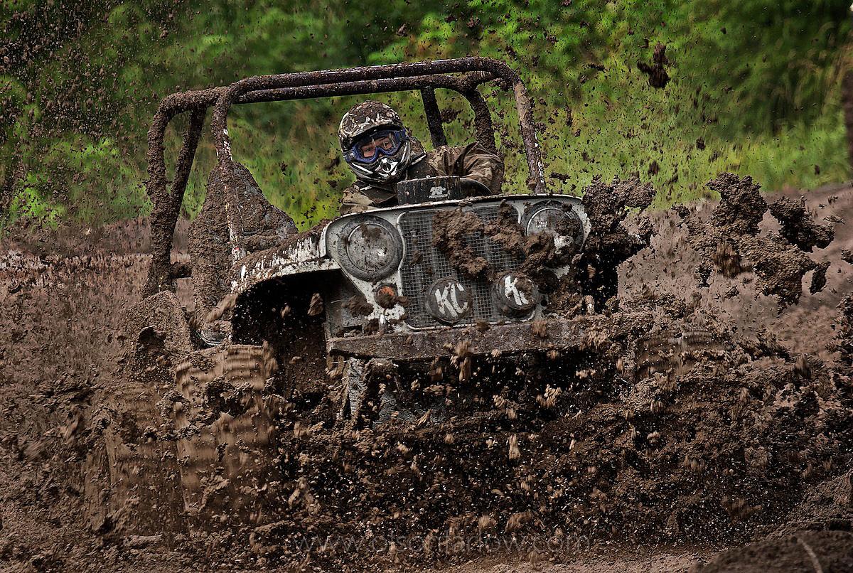 Off-Road Mud Bog Race